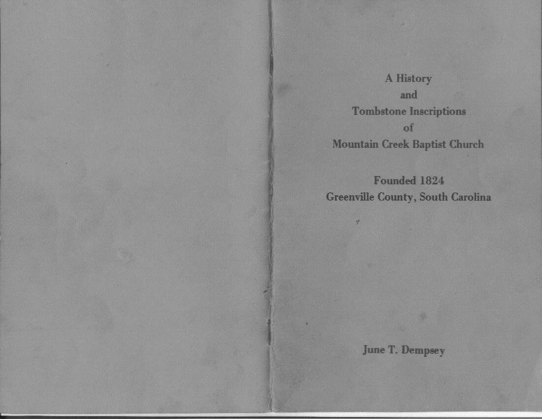 SC Genealogy Records and Research Resources