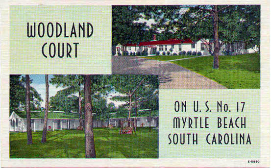 South carolina penny postcards for Woodland builders florence sc