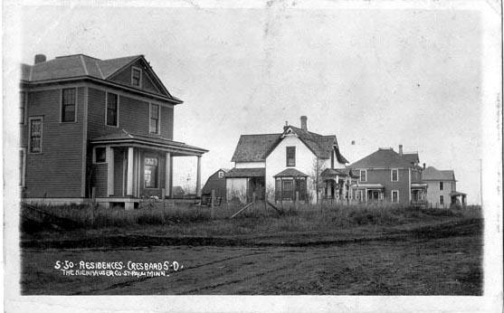 Penny Postcards from Faulk County, South Dakota