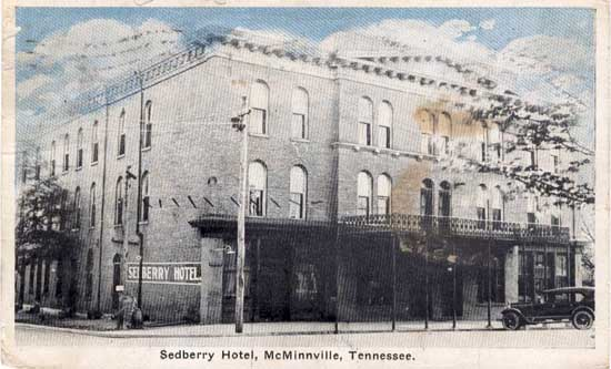 Sedberry Hotel Mcminnville