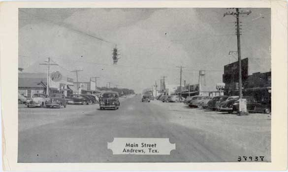 Penny Postcards from Andrews County, Texas Andrews County Texas