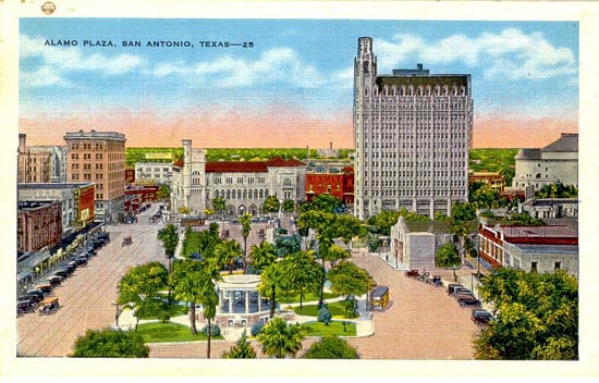 Penny Postcards From Bexar County Texas