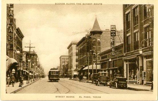 Penny Postcards From El Paso County Texas