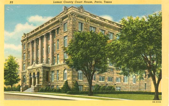 Penny Postcards from Lamar County, Texas