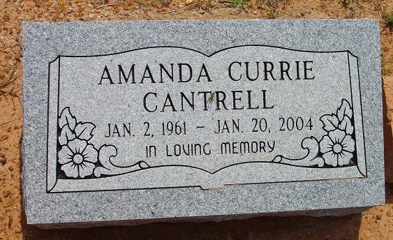 cantrell  amanda jane currie
