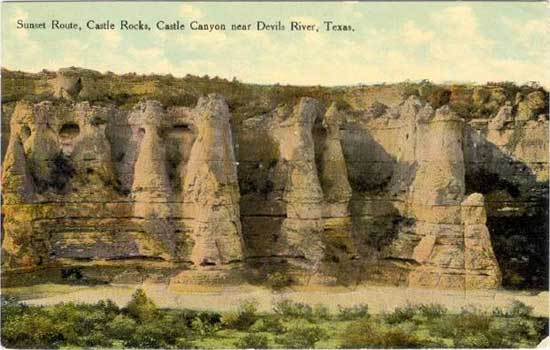 Penny Postcards from Val Verde County, Texas Fisher