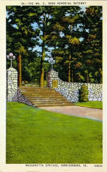Penny Postcards from Rockingham, Virginia