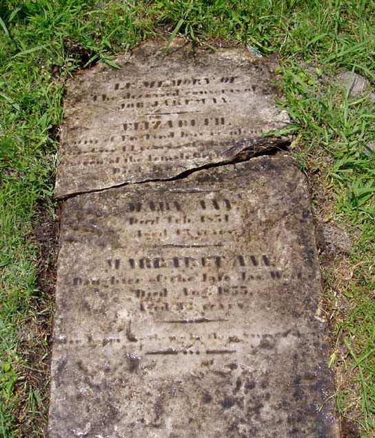 5 1st Alley West Cedar Grove South Grave East Row