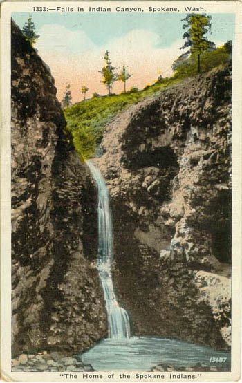 Park Ave Auto >> Penny Postcards from Spokane County Washington