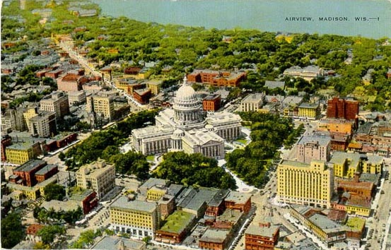 Penny Postcards From Dane County Wisconsin
