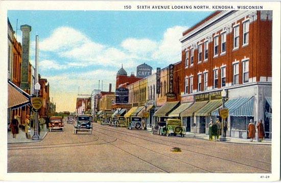 Dayton Shoring Props : Penny postcards from kenosha county wisconsin