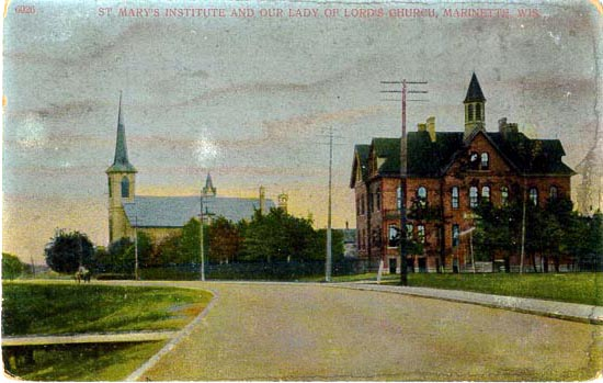 penny postcards from marinette county  wisconsin