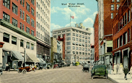 Penny Postcards From Milwaukee County Wisconsin