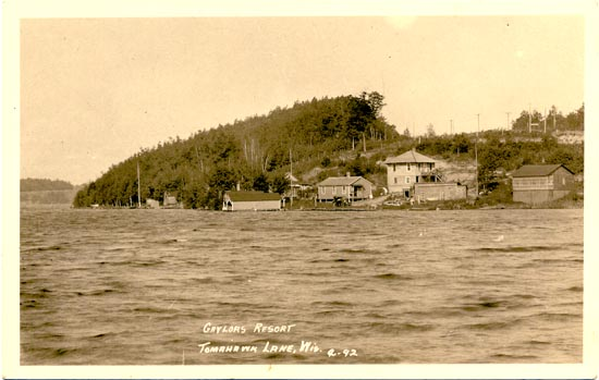 penny postcards from oneida county  wisconsin
