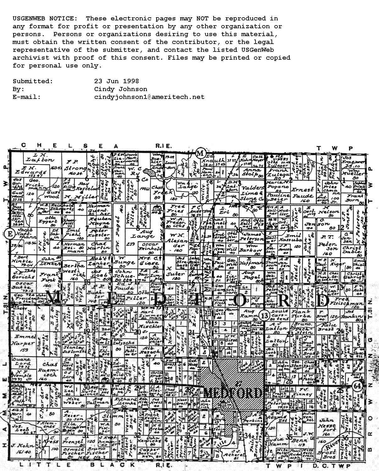 Wisconsin county map plat map for hammel trempealeau county sciox Gallery