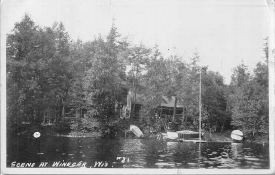Penny Postcards From Vilas County Wisconsin