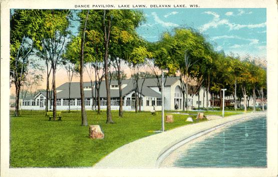 Dance Pavilion, Lake Lawn, Delavan Lake