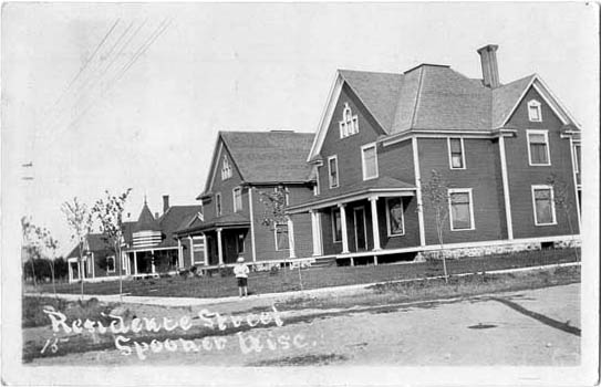 Penny Postcards From Washburn County Wisconsin