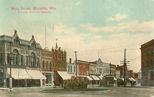 penny postcards from winnebago county  wisconsin